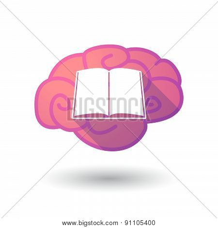 Brain Icon With A Star