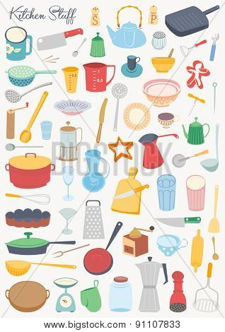 Food collection - Kitchen stuff