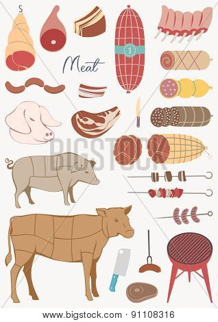 Food collection - Meat
