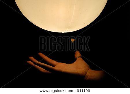 Hand On The Light