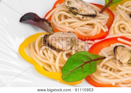 Seafood as haute cuisine.