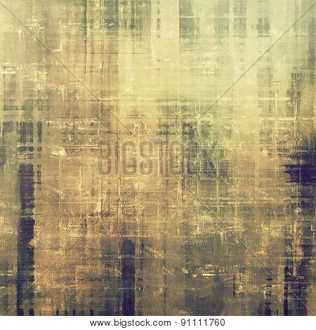 Abstract rough grunge background, colorful texture. With different color patterns: yellow (beige); brown; gray; black