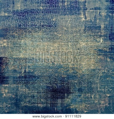 Art grunge vintage textured background. With different color patterns: gray; blue; cyan