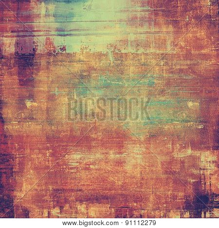 Abstract rough grunge background, colorful texture. With different color patterns: brown; pink; blue; purple (violet)