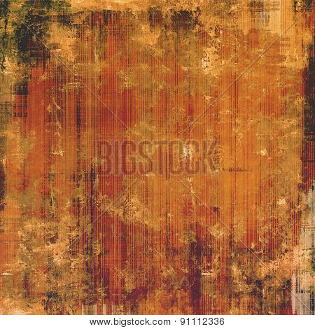 Art grunge vintage textured background. With different color patterns: yellow (beige); brown; black; red (orange)