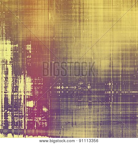 Grunge colorful background. With different color patterns: yellow (beige); brown; pink; purple (violet)