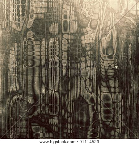 Abstract old texture with space for text or image, distressed grunge background. With different color patterns: brown; gray; black