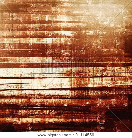 Grunge stained texture, distressed background with space for text or image. With different color patterns: yellow (beige); brown; gray
