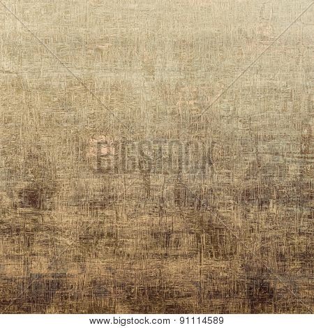 Old grunge textured background. With different color patterns: yellow (beige); brown; gray