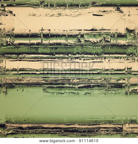 Old grunge antique texture. With different color patterns: brown; gray; black; green