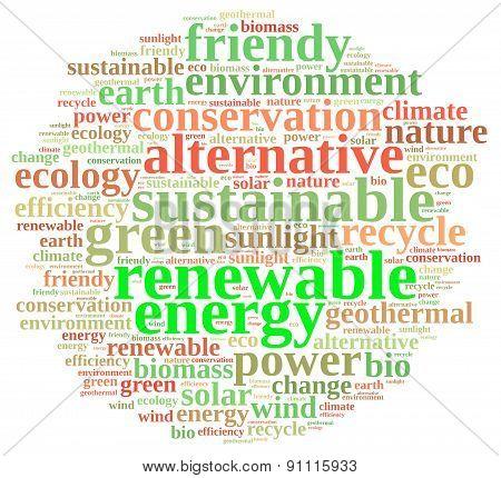 Renewable Energy.