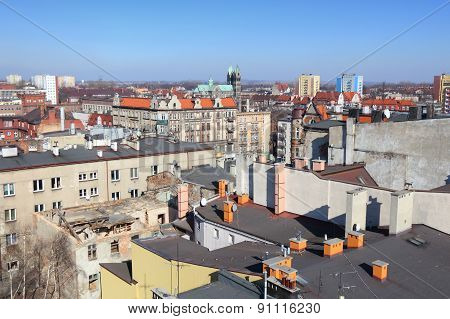 Bytom Skyline, Poland