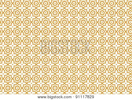 Arabic seamless patterns. Abstract background. Vector illustration