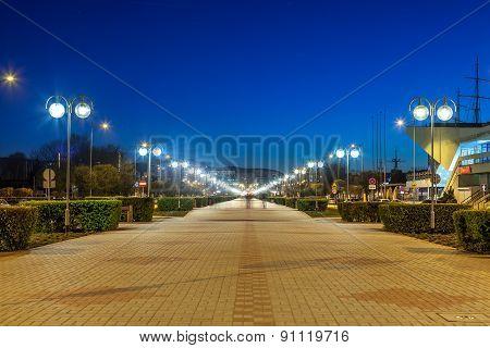Kosciuszko Square In Gdynia