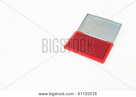 Stamp Pad Ink Isolate
