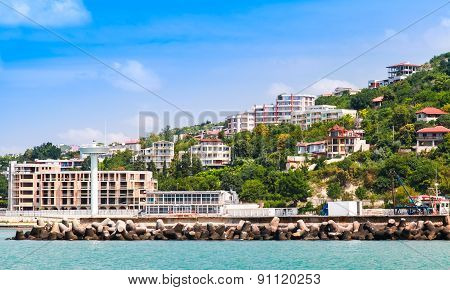 Landscape Of Kavarna, Coastal Town, Bulgaria
