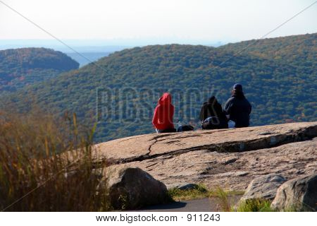 Enjoying The View On Bear Mountain