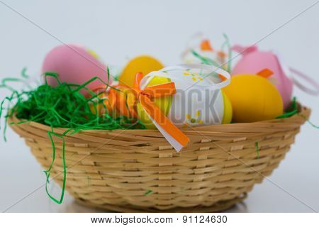 Easter Egg With Beautiful Motive .