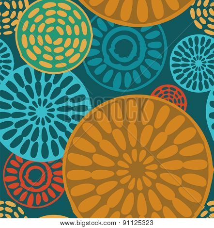 Seamless geometric, tribal african and ethnic vintage patterns