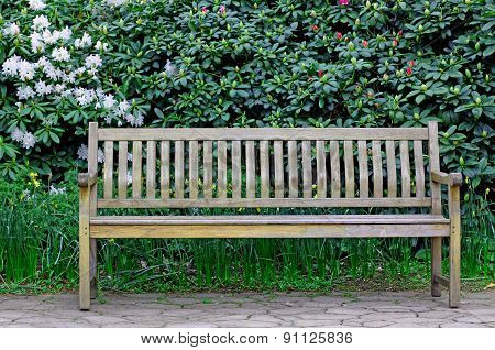 Bench In A Garden!