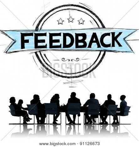 Feedback Evaluation Reflection Response Result Concept