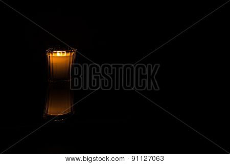 Candlelight - left of center