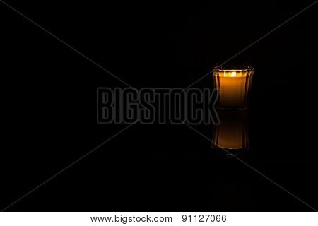 Candlelight - right of center
