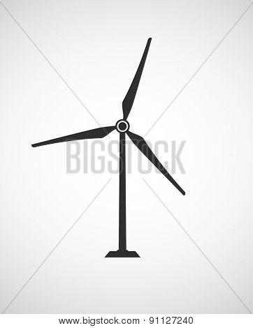 wind turbine icon design
