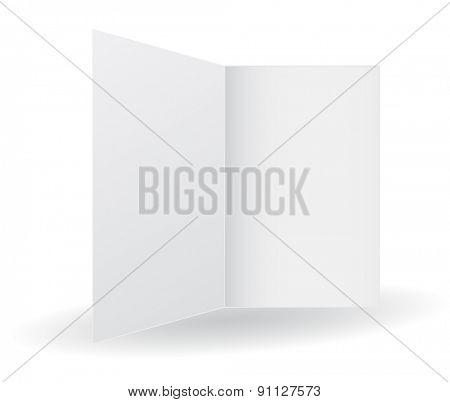 folder opened white icon 3d
