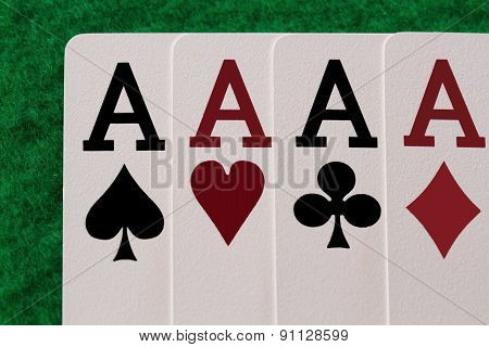 Four Aces On The Table Casino
