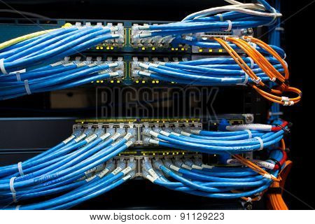 Network Cable And Switch