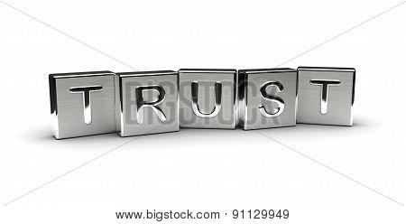 Metal Trust Text
