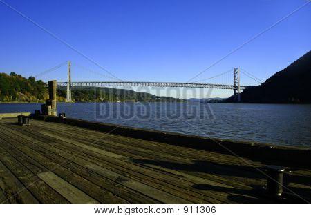 Bear Mountain Bridge In Hudson Valley, Ny