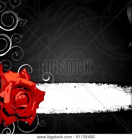 flores vector banner