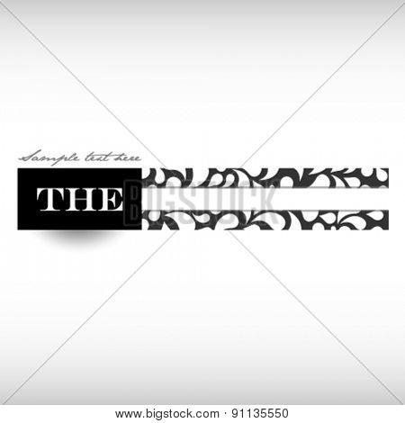 elegant vector banner design