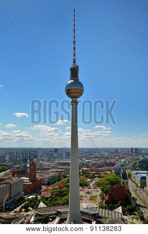 Berlin TV Tower.