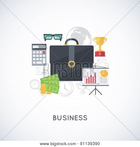 Business background.