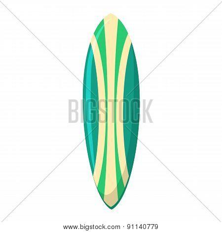 Surfing board.