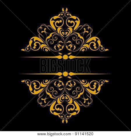 Ornamental Pattern For Invitations, Greeting Cards. Vector Illustration.
