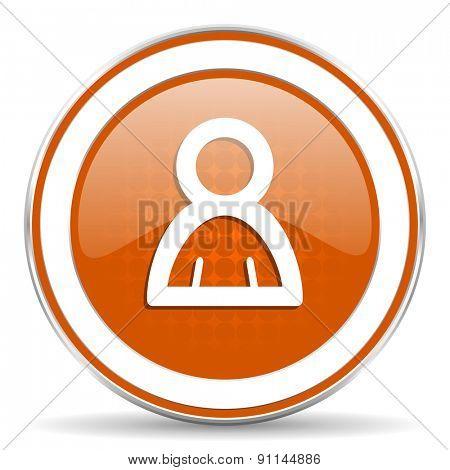 person orange icon