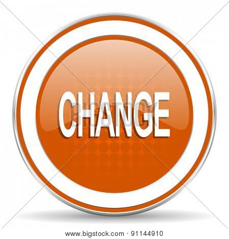 change orange icon