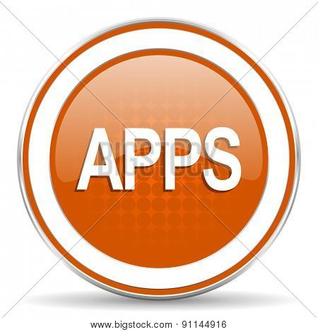 apps orange icon