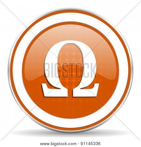 omega orange icon