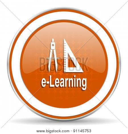 learning orange icon
