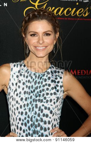 LOS ANGELES - MAY 19:  Maria Menounos at the 40th Anniversary Gracies Awards at the Beverly Hilton Hotel on May 19, 2015 in Beverly Hills, CA