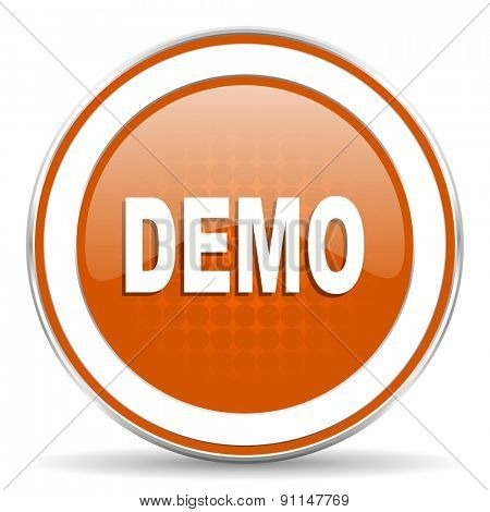 demo orange icon