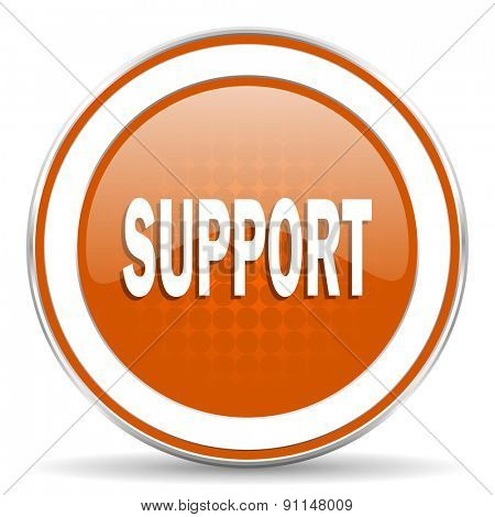 support orange icon