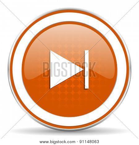 next orange icon
