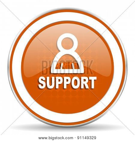support orange icon