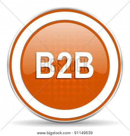 b2b orange icon